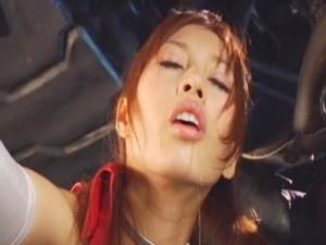 【バイブ女性向け動画】敵のアジトに乗り込んだ女スパイが2穴バイブ責めの凌辱!綾瀬ティアラ
