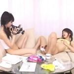 【レズ女性向け動画】レズカップルが相手のオナニーをじっくり鑑賞し撮影する変態プレイ