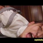 【SEX女性向け動画】目隠しされたOLが媚薬を塗られて白目をむくほど激しいイラマチオレイプに絶頂!