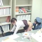 【盗撮女性向け動画】キセルをしようとした制服女子校生にお仕置き手マンセックスする駅員