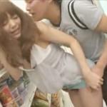 【イケメン女性向け動画】貞松大輔、コンビニでまさかの公開スリルセックス?!声我慢でハメられまくるRio