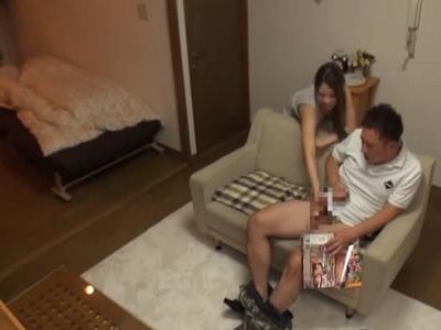 【SEX女性向けAV動画】従兄の家に泊めてもらったら自慰してたから面白くなってエッチなことしてあげちゃった