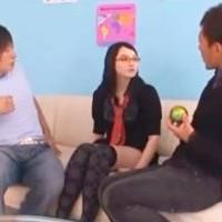 【SEX女性向けAV動画】美女な外人さんと3Pしちゃうノリノリな2人のイケメン♥