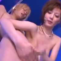 【SEX女性向けAV動画】金髪のイケメンくんのおちんちんを激しく弄って射精に導いてあげちゃう